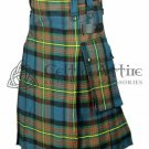 Clan Muir Tartan - Scottish TARTAN UTILITY Modern KILT for Men - 16 Oz Acrylic size 42