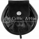 Handmade Scottish Rob Roy Sporran - Medieval Leather Pouch - Pirate Leather Bag
