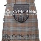 8 Yard Traditional Scottish KILT & ACCESSORIES- Clan Tartan Black Watch Weathered size 50