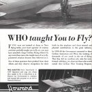 1941 Howard Aircraft Model DGA-125 Trainer Plane Ad