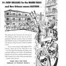 1949 Eastern Air Lines Its New Orleans For The Mardi Gras Ad