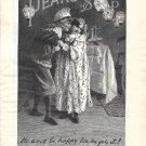 1895 Pears Soap Boy Stealing A Kiss Ad