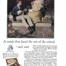 1923 Romance Chocolates Candy Ad Norman Rockwell Art