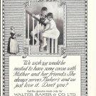 1922 Walter Baker & Co Chocolate Dorchester MA Ad