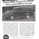 1937 General Motors Trucks & Trailers Ad Built For Work Designed For Economy
