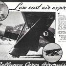 1935 Bellanca Cargo Aircruiser Plane AD Low Cost Air Express