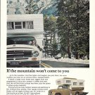 1967 International Campmobile If The Mountain Won't Come To You Ad