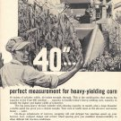 1964 Case 40' Combine Perfect Measurement For Heavy Yielding Corn Ad