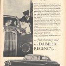 1955 Daimler Regency Mk II Car Ad Men Of Affairs