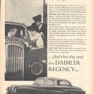 1955 Daimler Regency Mk II Car Ad Men Of Affairs
