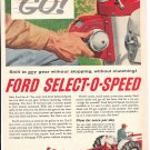 1961 Ford Select O Speed Tractor Ad Shift On The Go