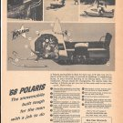 1968 Polaris Snowmobile Features Ad When Your Work Is Done Ad