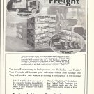 1917 Federal Motor Trucks Freight Ad