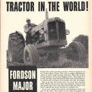 1954 Ford Fordson Major Diesel Tractor Ad Largest Selling