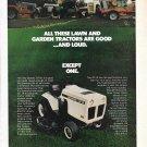 Old Bolens QT-16 Lawn & Garden Tractor Ad
