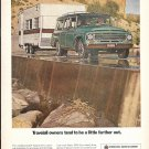 1968 International Harvester Travelall Owners Tend To Be A Little Farther Out Ad