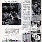 1943 Fostoria Glass Co Colony Pattern Glassware Ad