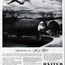 1942 United Air Lines Cargoliner In The Age Of Flight Ad