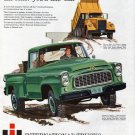 1960 International Dump & Pickup Trucks Ad Tougher The Job
