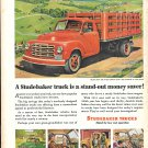 1951 Studebaker Platform Truck On Farm Ad Stand Out Money Saver