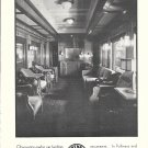 1930 Northern Pacific Railroad New North Coast Limited Train Observation Parlor Car Ad