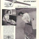 1952 Babe Didrikson Zaharias Greatest Woman Golfer Timex Watch Ad