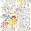 1951 F.W. Woolworth Co Dolls For Christmas Ad Ask Any Little Girl