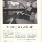 1949 Buick Roadmaster Car Fit Setting For A Lovely Lady Ad