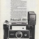 1971 Polaroid's 450 Camera Ad Genius Of The Family