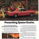 1972 Plymouth Space Duster Car Ad Moving Day