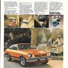 1974 Chevrolet Vega GT Car Ad Everybody Loves A Winner