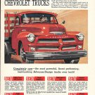 1954 Chevrolet Trucks Completely New Ad