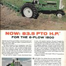 1963 Oliver 1800 6 Plow Tractor Ad