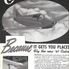 1941 Culver Aircraft Going Places Ad