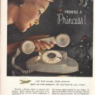 1960 Bell Telephone Promise A Princess Phone Christmas Ad