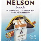1960 Nelson Tipped Cigarettes Your Taste Will Appreciate Ad