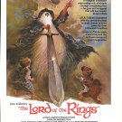 1978 J.R.R. Tolkien's The Lord Of The Rings Movie Promo Ad
