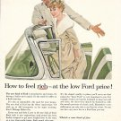 1957 Ford Convertible Car Ad How To Feel Rich