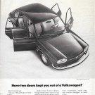 1972 Volkswagen 4 Door Model 411 Car Have Two Doors Kept You Out Ad