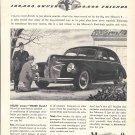 1940 Mercury 8 Car In Driveway Ad