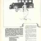 1924 Rollin Motor Car Boy Shoveling Snow Ad