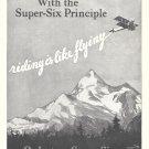 1927 Hudson Essex CAr Plane Sky Writing Ad