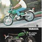 1969 Yamaha 250 Street Scrambler DS6-C Motorcycle Ad