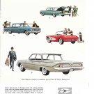 1961 Chevrolet Cars 8 Models Corvette Impakla Bel-Air Biscayne Nomad Ad