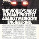 1982 BMW 733i Car World's Most Elegant Protest Ad