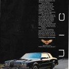 1985 Buick Riviera Car A Contemporary Classic Ad
