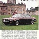 1983 Jaguar XJ6 Car Castle Ad It Keeps Getting Better