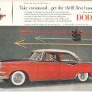 1955 Dodge Custom Royal Lancer 4 Door Car Ad