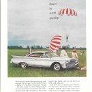 1960 De Soto Car Sky Diving Theme Ad