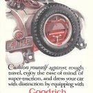 1925 Goodrich Silvertown Balloon Tires Ad Cushion Yourself